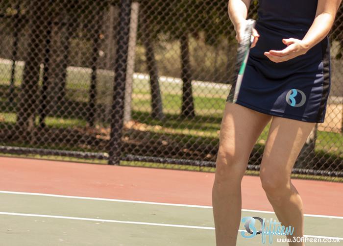 30Fifteen logo on Cleo Tennis Dress Navy.jpg