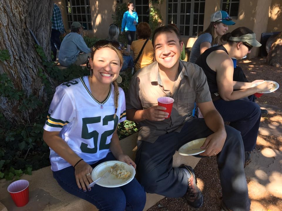 Smiles and enchiladas at the 2016 harvest Picking Party