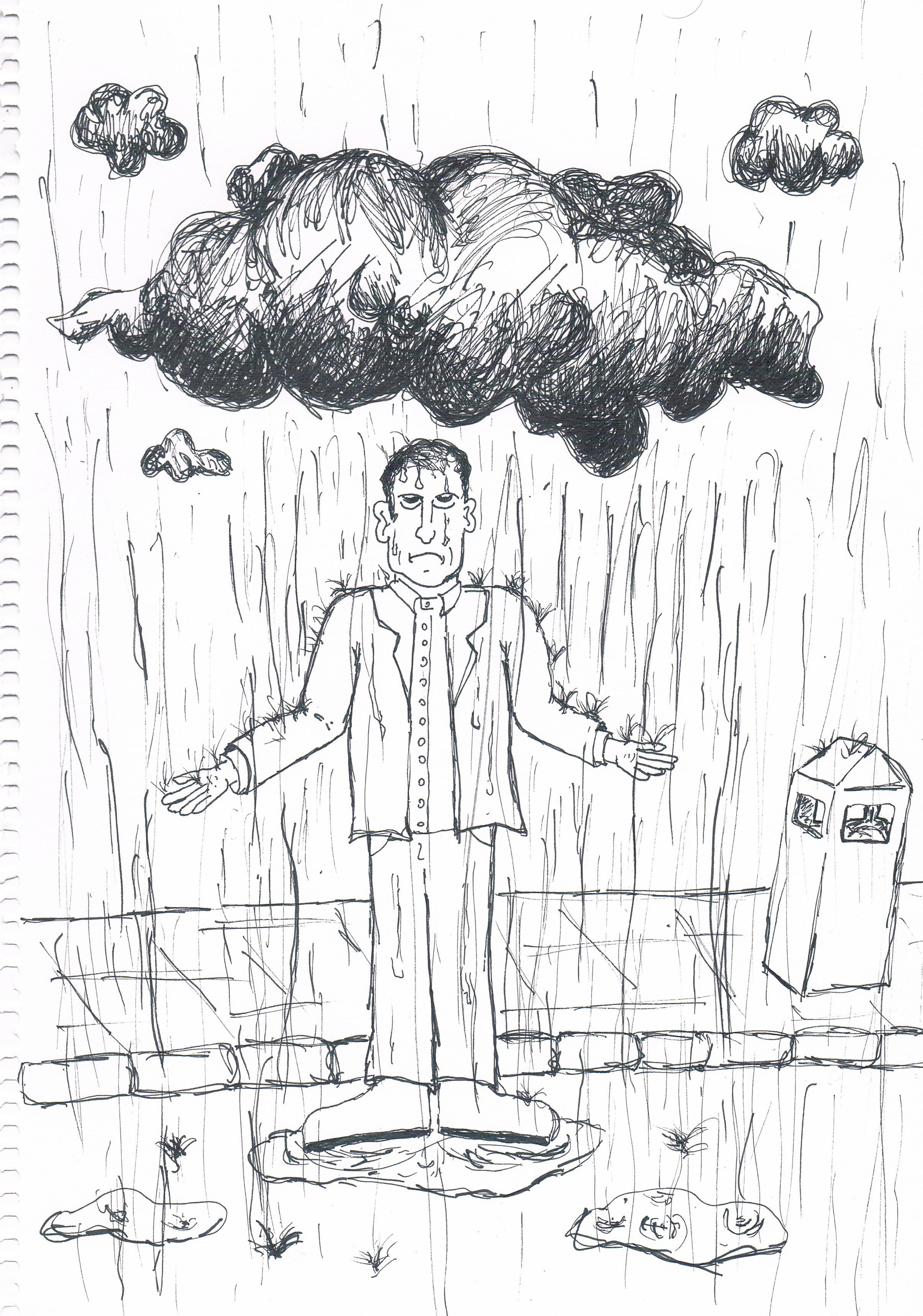 """It Was Raining On The Street"" (2016)"