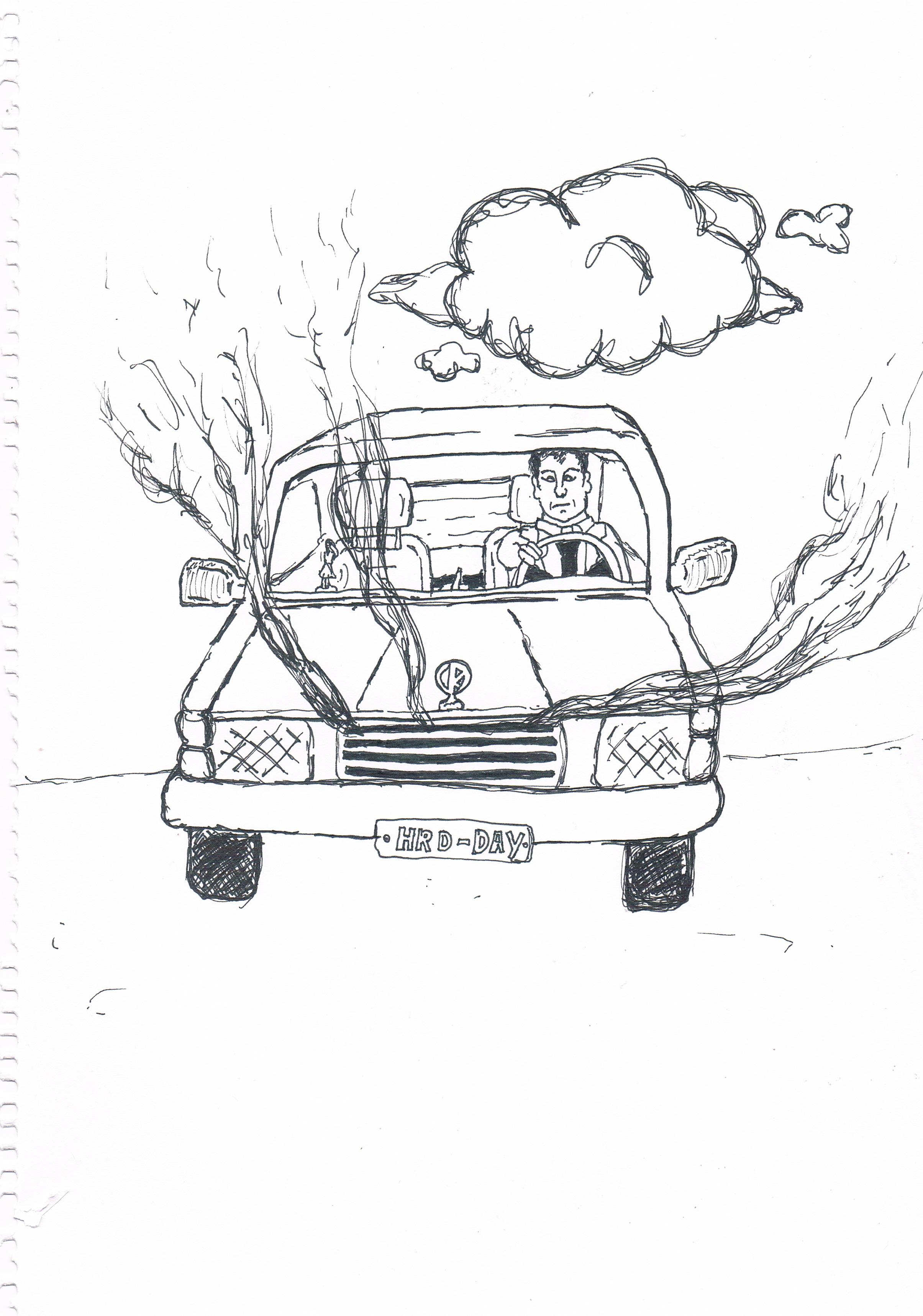 """My Car Would ot Start And It Got Bigger"" (2016)"