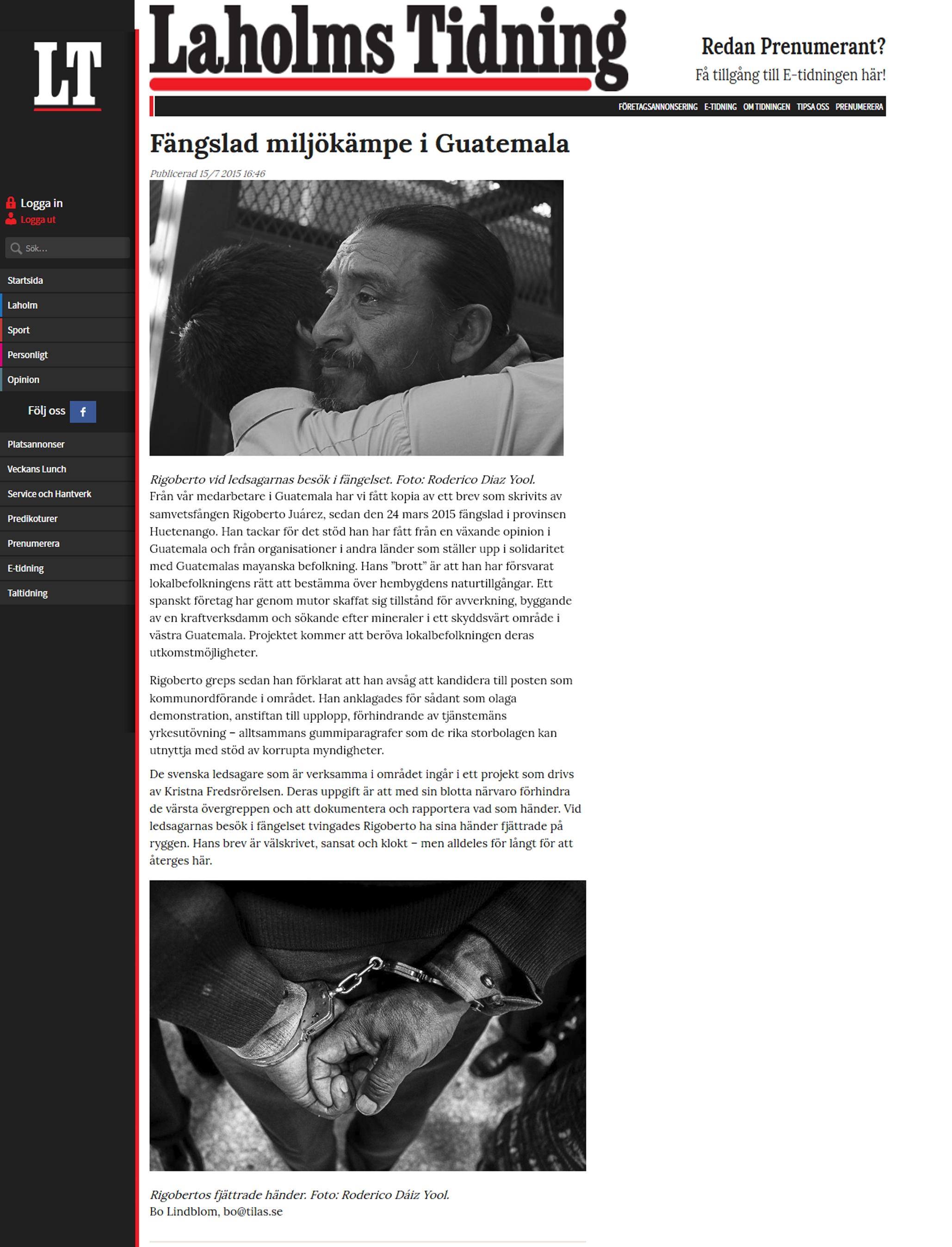 Laholms Tidning 2015 suecia.jpg