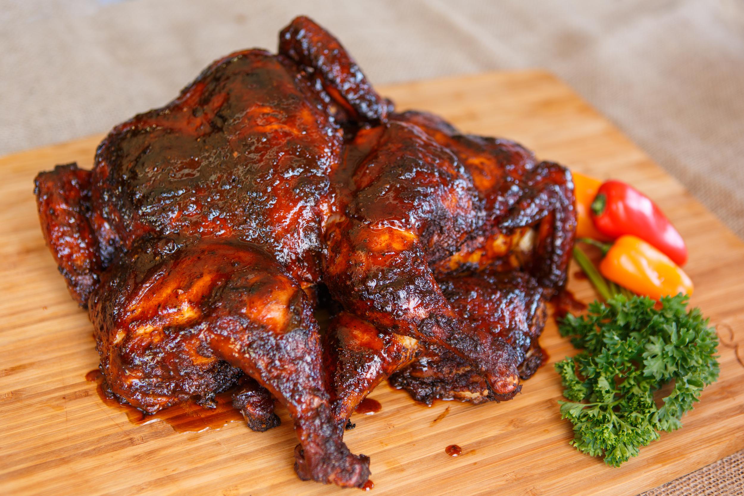 Smoked BBQ Chicken