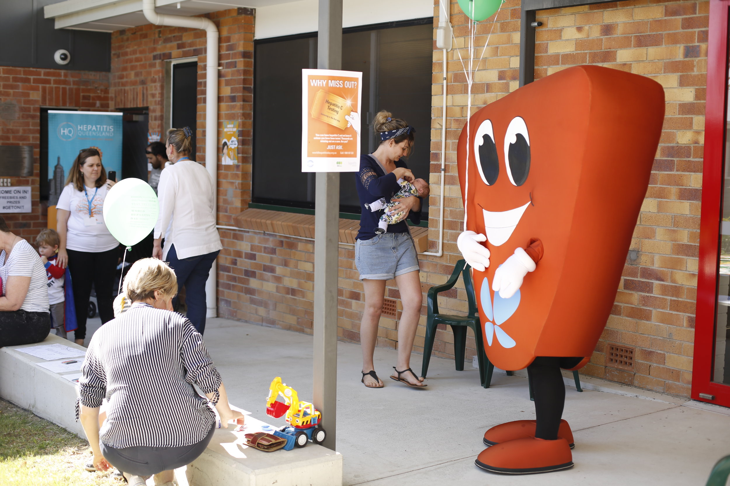 Hepatitis Queensland @ Redcliffe community event