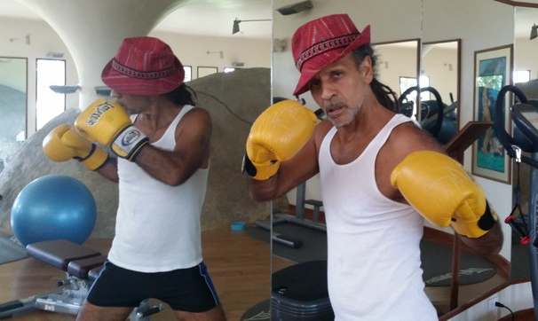 Boxing at Kamalaya