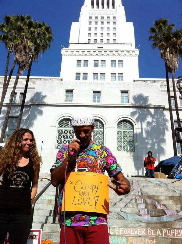 Fantuzzi Occupying with Love in LA, Nov 2011.jpg