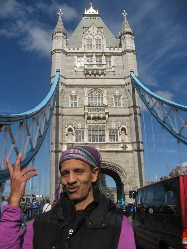 Holding up Tower Bridge.JPG