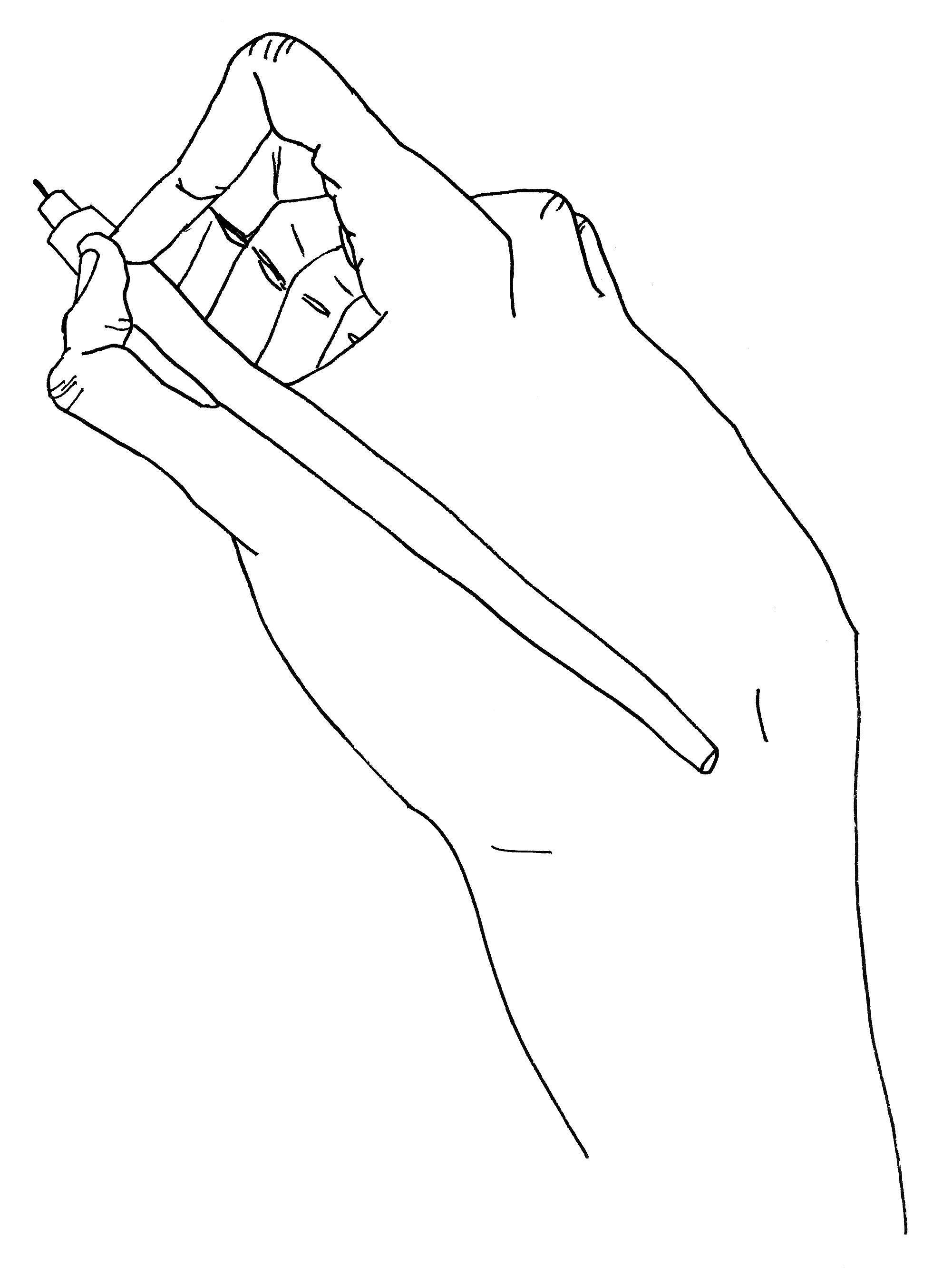 """Hand (Self Portrait)"""