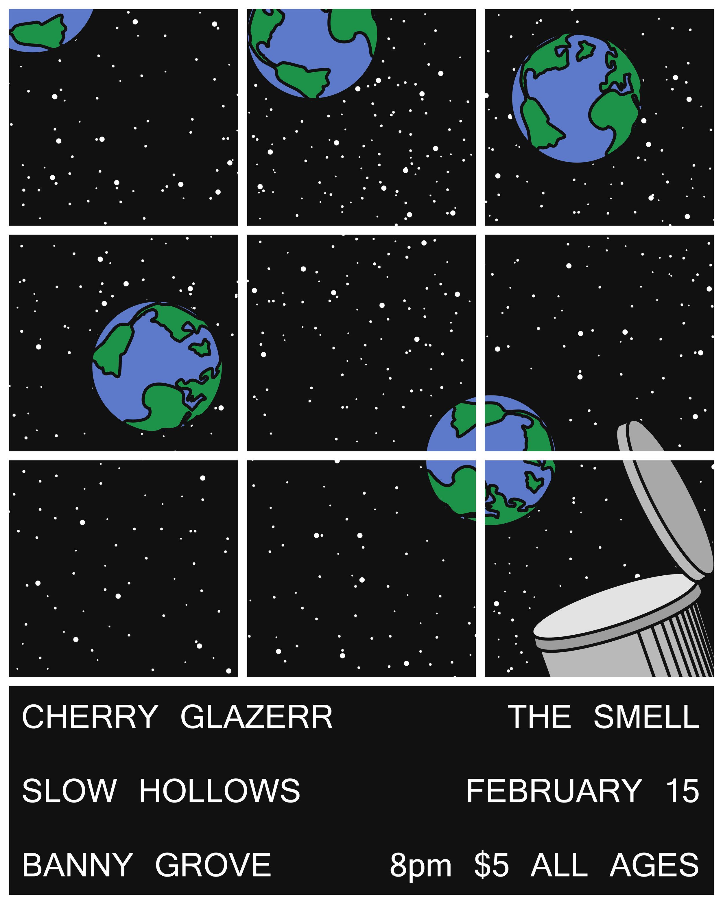 Flyer for Cherry Glazerr