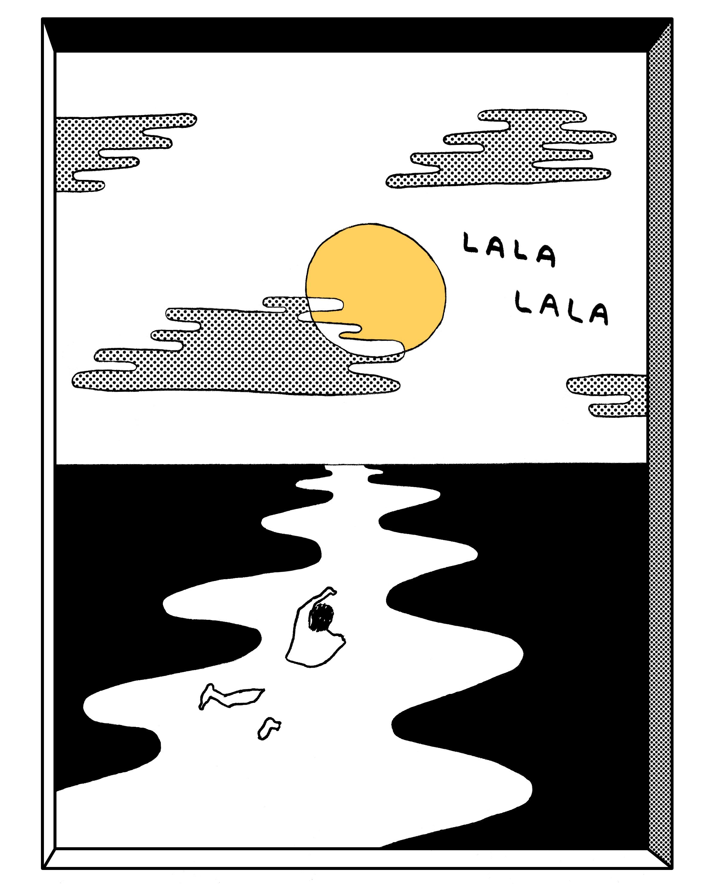T-shirt for Lala Lala