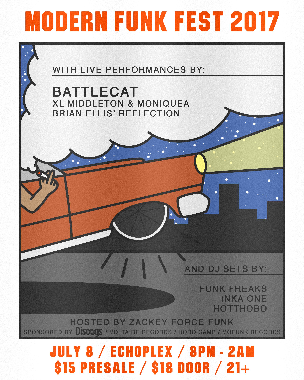 Poster for Modern Funk Fest