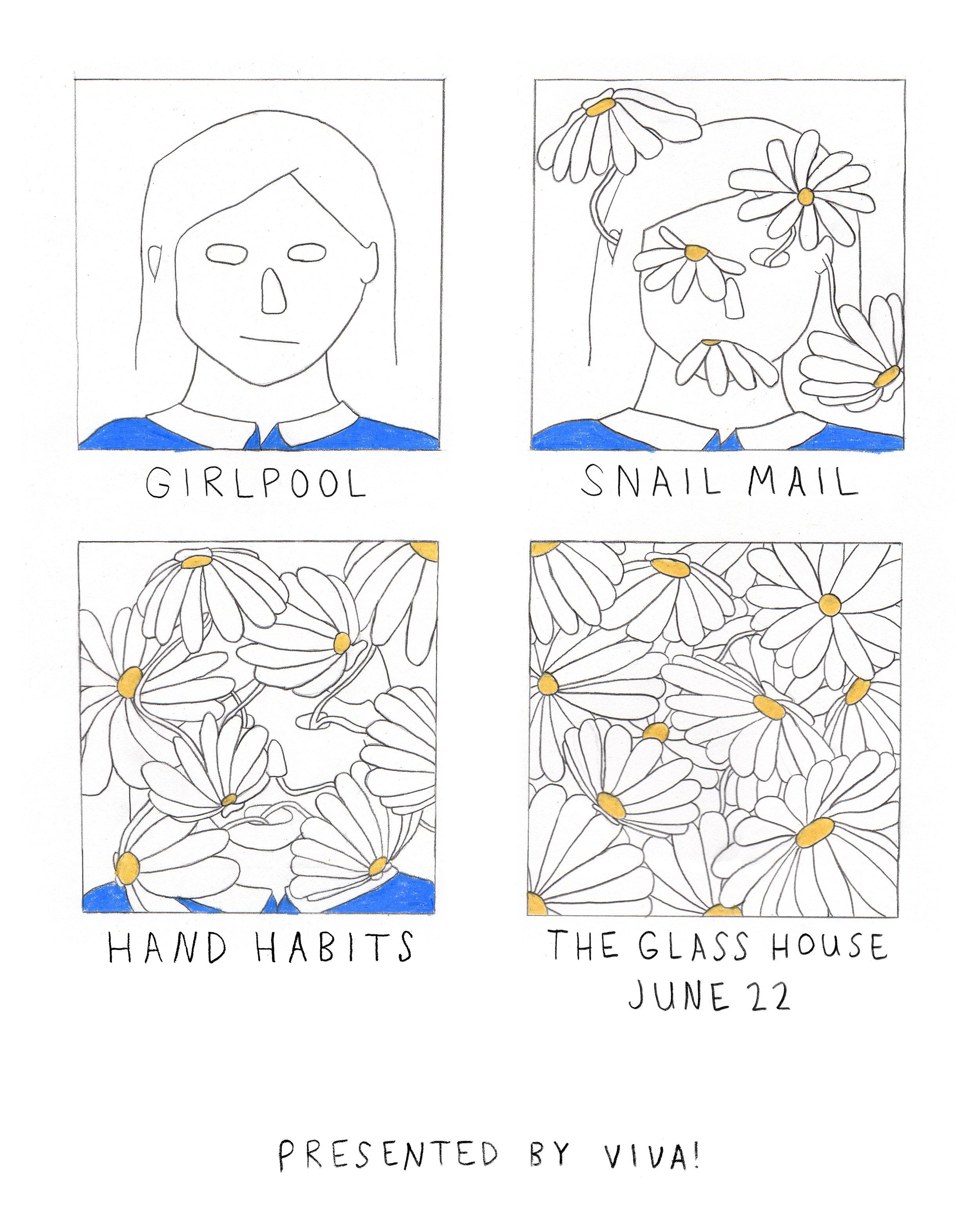 Poster for Viva! / Girlpool