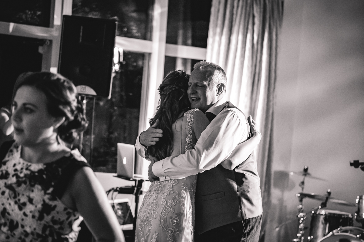 Documentary Wedding Photographer South Wales Father of the Bride Unposed Moments
