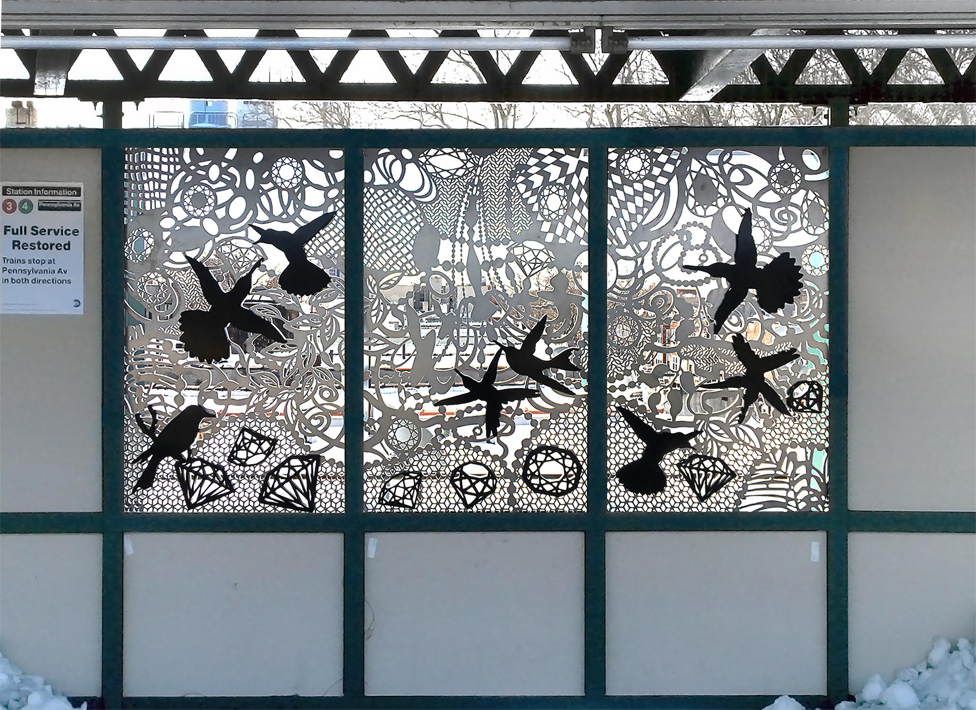 Nancy Baker_mta subway art