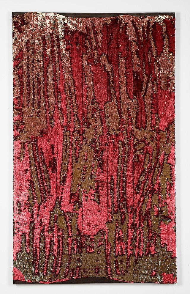 Rachel Gisela Cohen_Red Sequin Painting.jpg