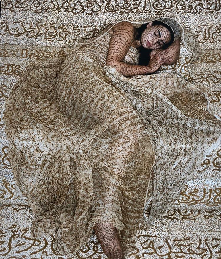 Lalla Essaydi - photography / calligraphy