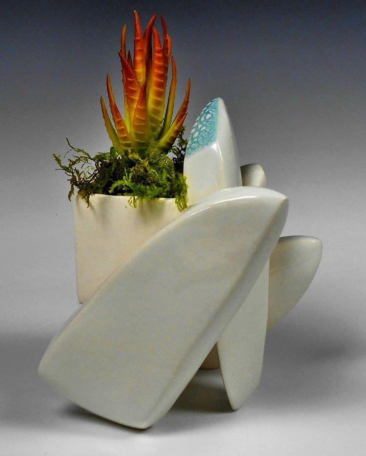 Sarah House - fractal inspired ceramics