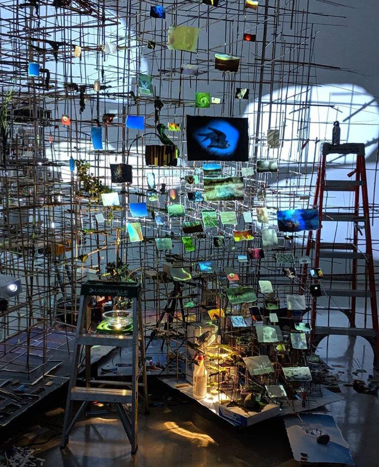 Sarah Sze - Tanya Bonakdar Gallery