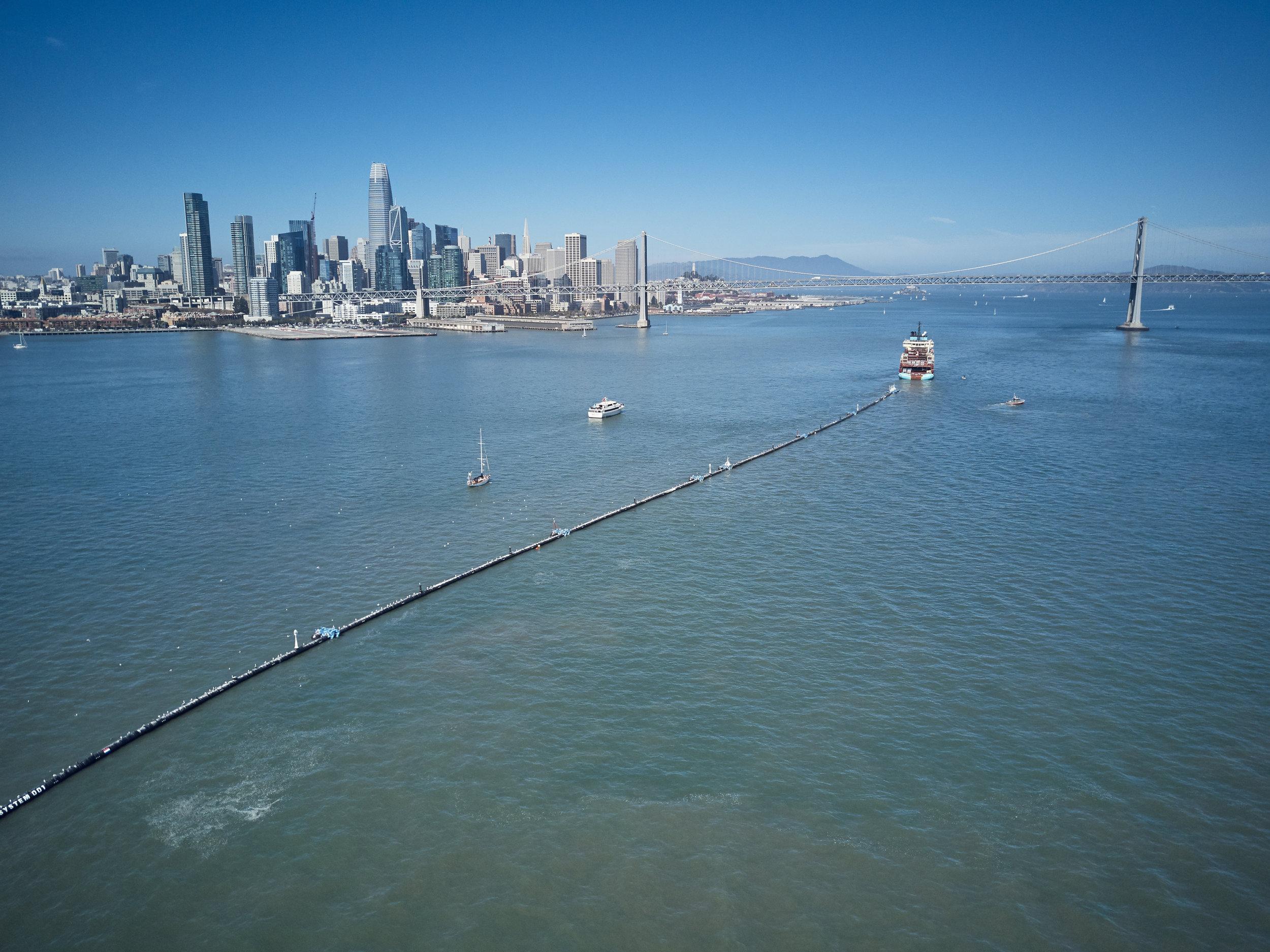 Credits: The Ocean Cleanup / Benjamin Von Wong