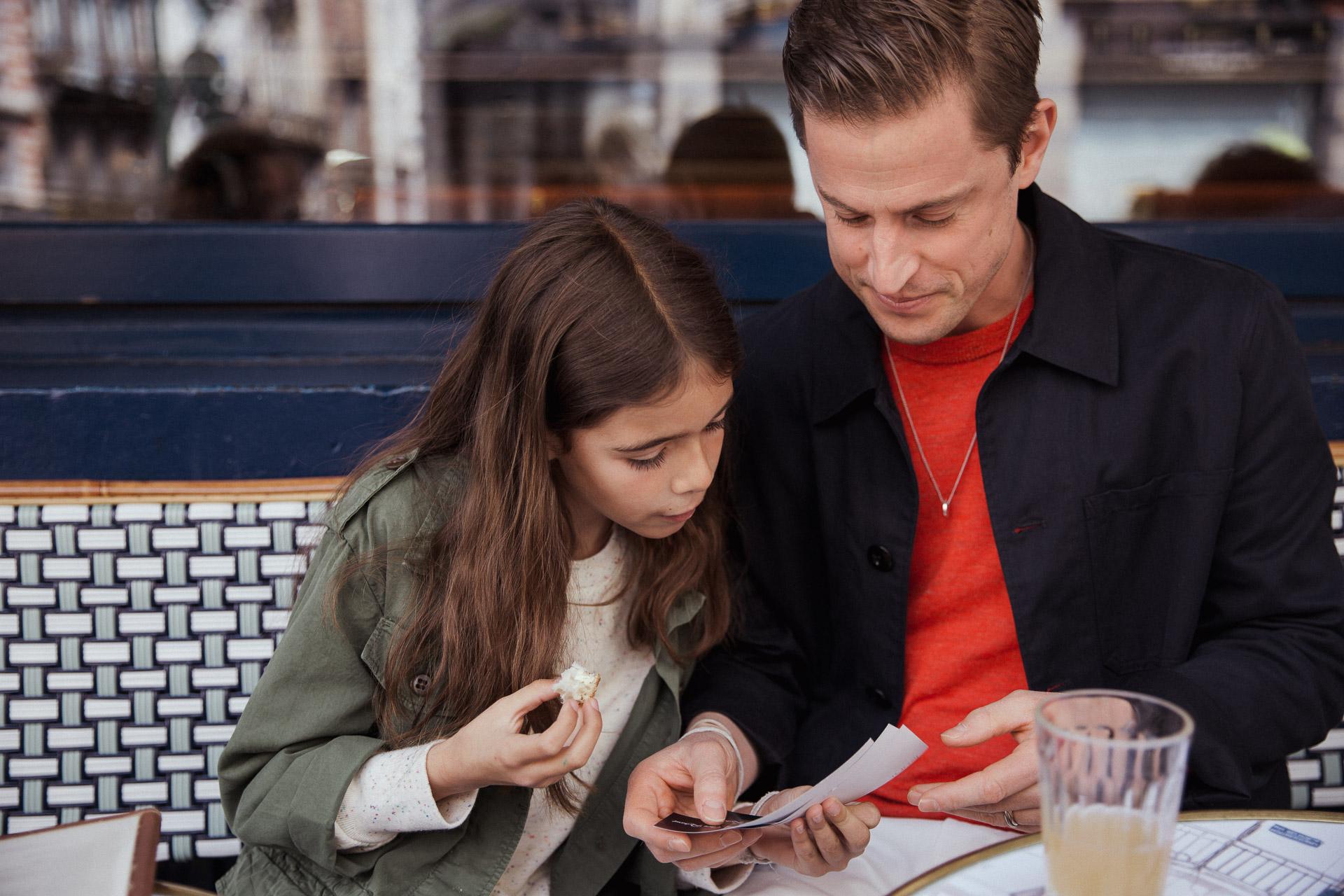 Clara :  Patent Overshirt  -  Bizzo Sweatshirt  / Koen :  Golsh Overshirt  -  Nak Knitwear