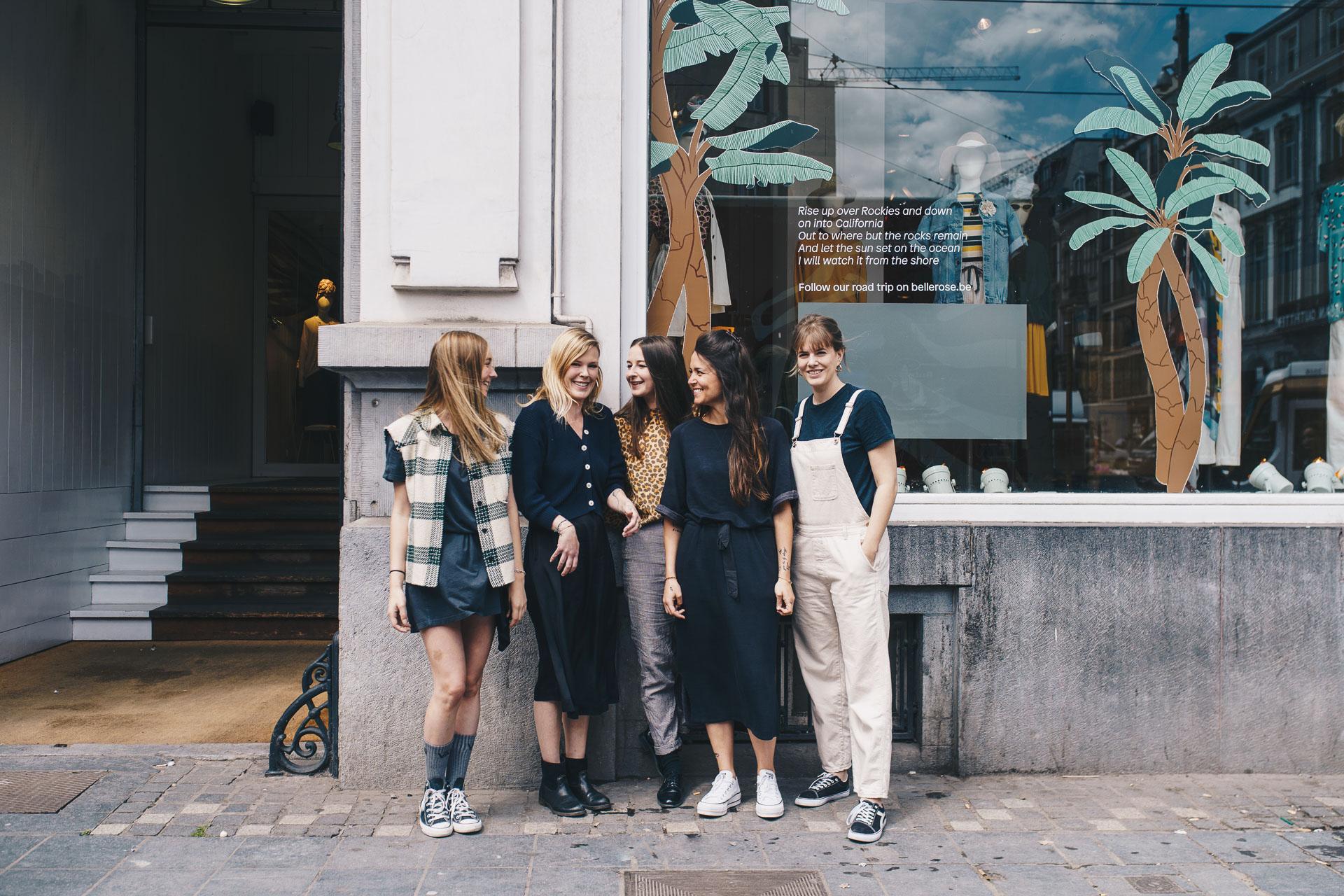 Bellerose Brussels flagship store & team