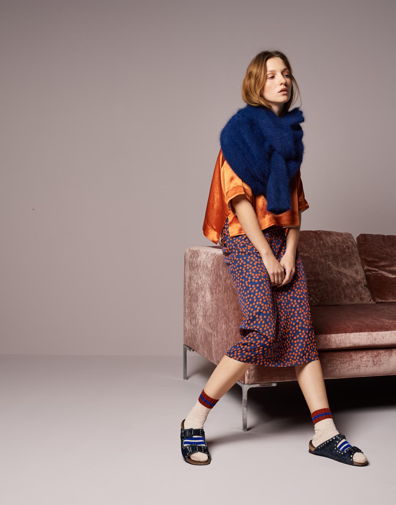 Knitwear Datou  -  Blouse La Bas  -  Skirt Lambda