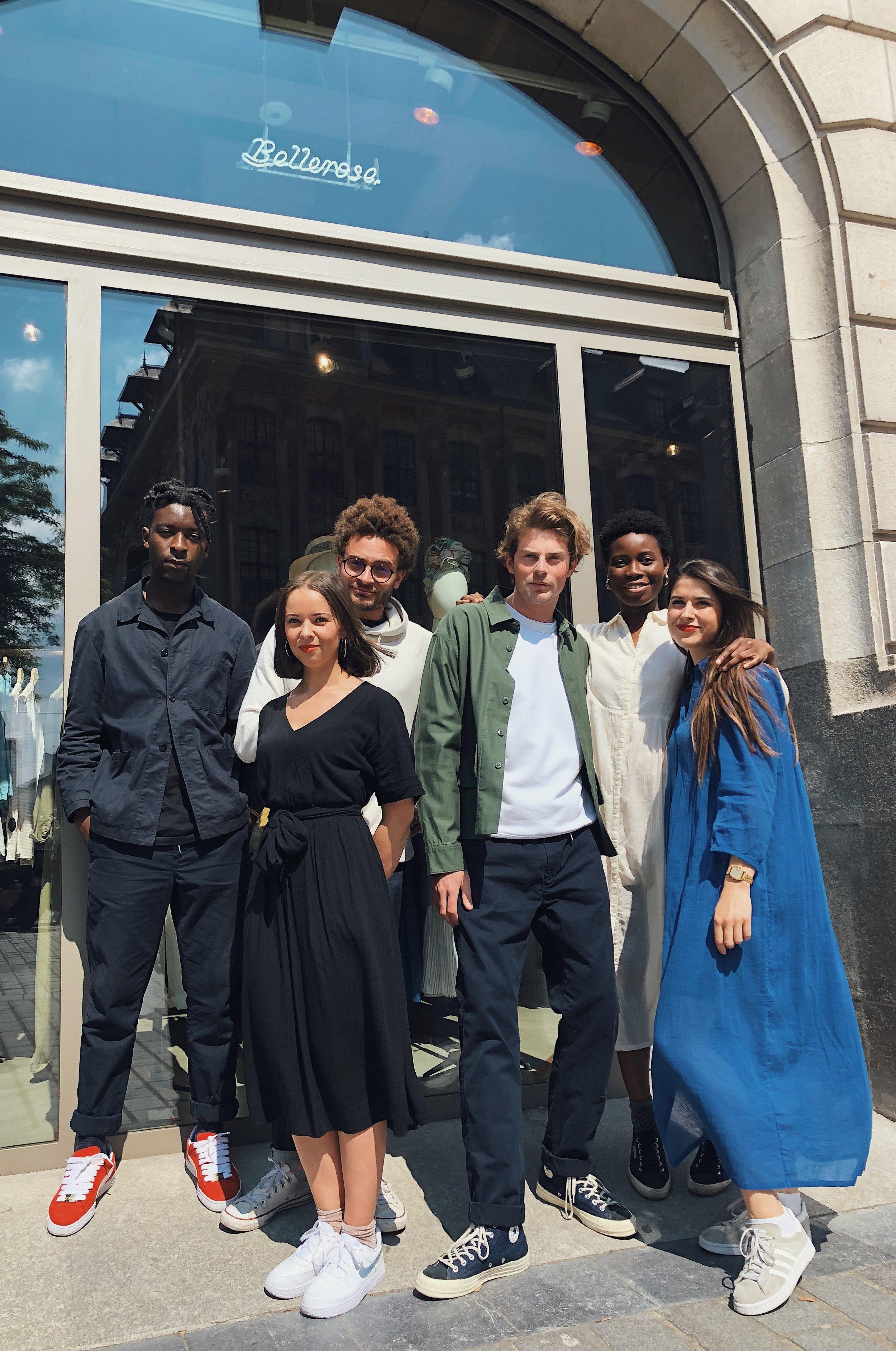 Lille Bellerose store & team