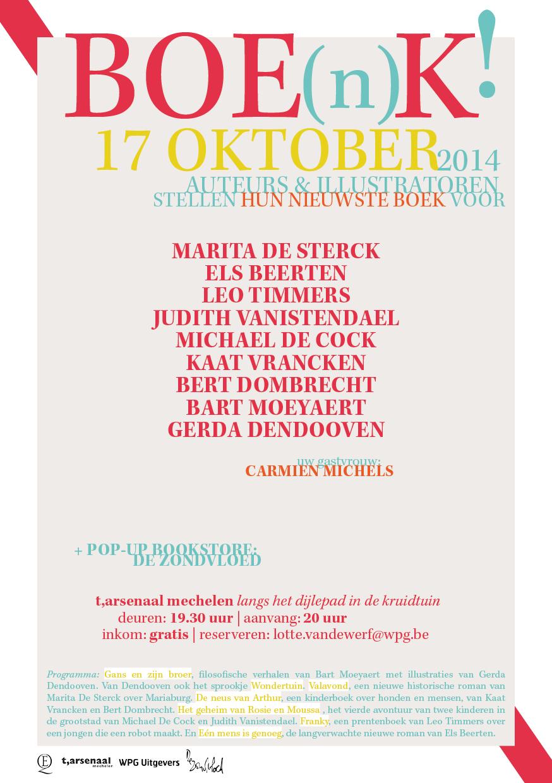 BOE(n)K!    Iedereen is welkom in Mechelen!