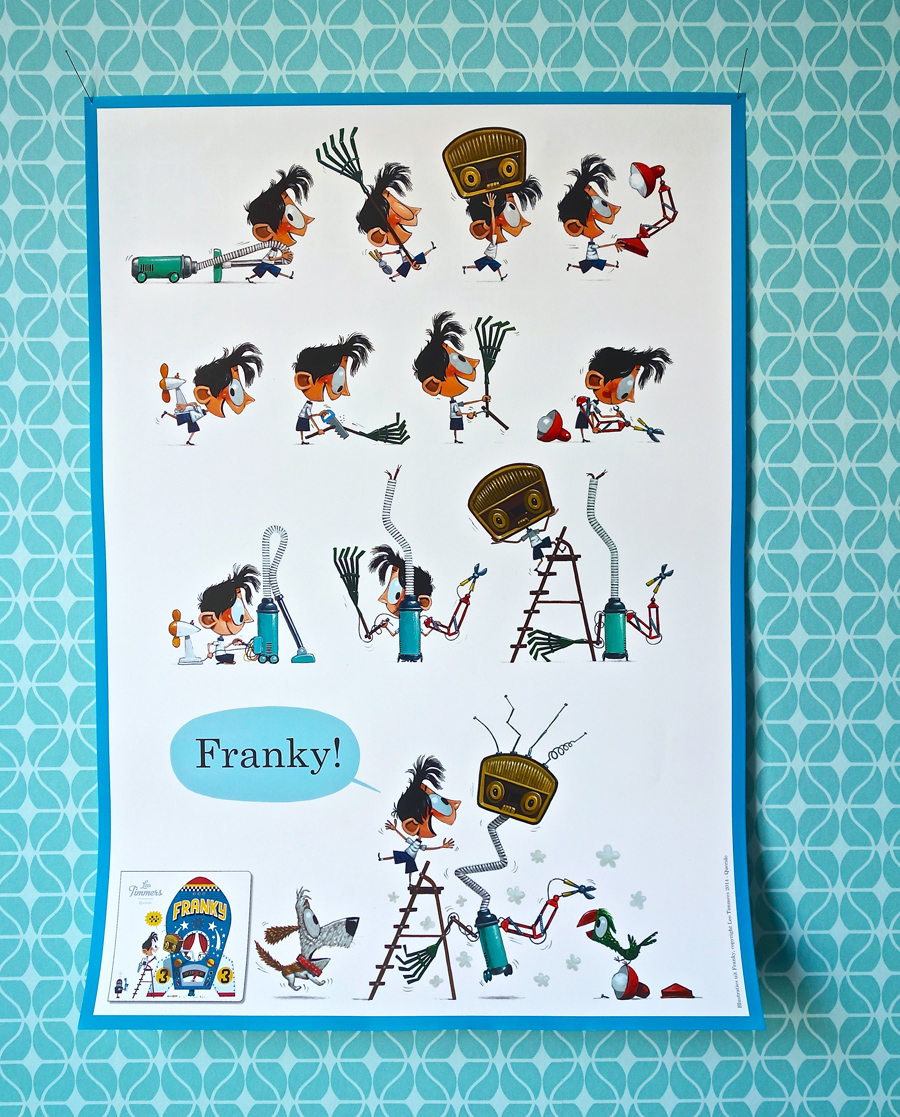 FRANKY POSTER    Franky is in stores now with free poster!