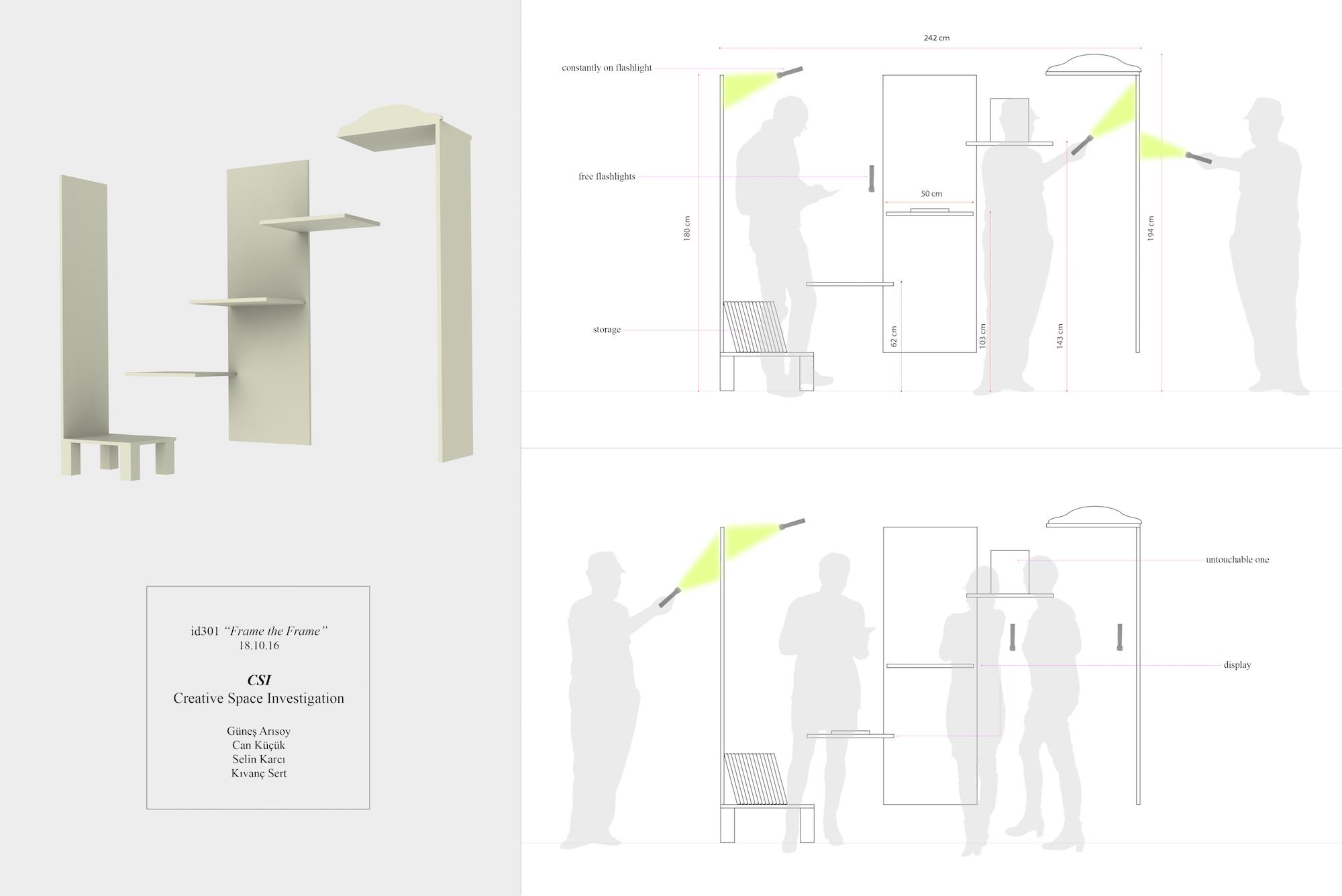 """""""The State of Design"""" studio Istanbul Bilgi University Department of Industrial Design / Scenario of the students: Can Küçük, Kıvanç Sert, Selin Karcı, Güneş Arısoy"""