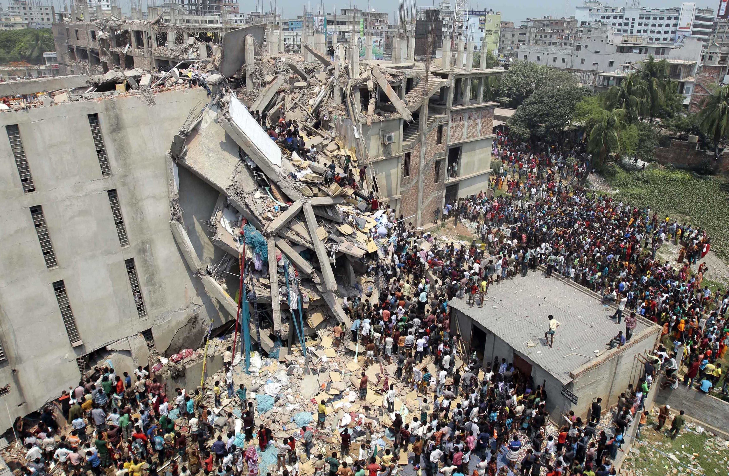 On 24 April 2013, Rana Plaza building in Bangladesh containing five clothing manufacturing factories, collapsed to the ground taking the lives of 1,333 people and injuring 2500.