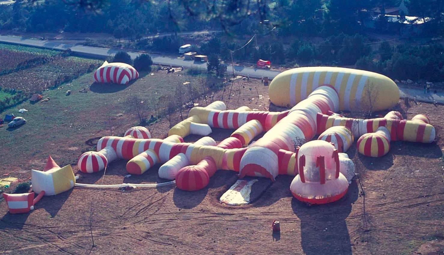 Instant City, Ibiza, 1971 / Mimar José Miguel de Prada Poole