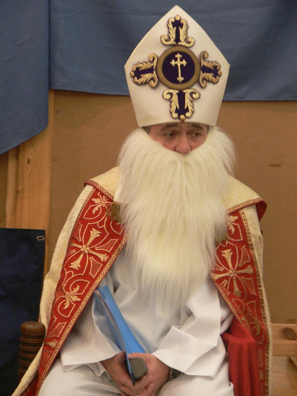A decemberi családos délutánon a Budavári Gyülekezetben is járt Miklós püspök!