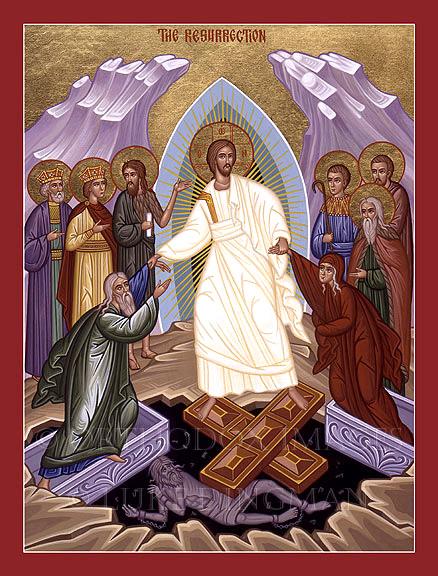 1 Kor 15,47-53.  Az első ember földből, porból való, a második ember mennyből való. Amilyen a földből való, olyanok a földiek is, és amilyen a mennyből való, olyanok a mennyeiek is. És amint viseltük a földinek a képét, úgy fogjuk viselni a mennyeinek a képét is. Azt pedig állítom, testvéreim, hogy test és vér nem örökölheti Isten országát, a romlandóság nem örökli a romolhatatlanságot. Íme, titkot mondok nektek: nem fogunk ugyan mindnyájan elhunyni, de mindnyájan el fogunk változni. Hirtelen egy szempillantás alatt, az utolsó harsonaszóra; mert meg fog szólalni a harsona, és a halottak feltámadnak romolhatatlanságban, mi pedig elváltozunk. Mert e romlandó testnek romolhatatlanságba kell öltöznie, és e halandónak halhatatlanságba.