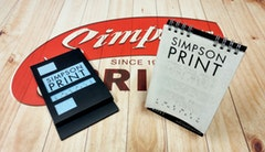 SIMPSON PRINT CALENDAR   Simpson Print, Canada    Shortlisted Sticker Download