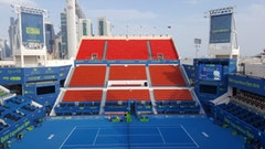 VISUAL ENGAGEMENT FOR QATAR EXXON MOBIL OPEN   The Look Company, Canada    Shortlisted Sticker Download
