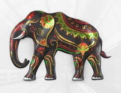 ELEPHANT   Classic Stripes PVT Ltd, India    Shortlisted Sticker Download