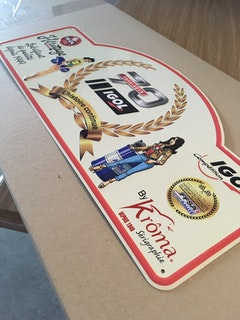 RALLYE - IGOL   Krôma SA    Shortlisted Sticker Download