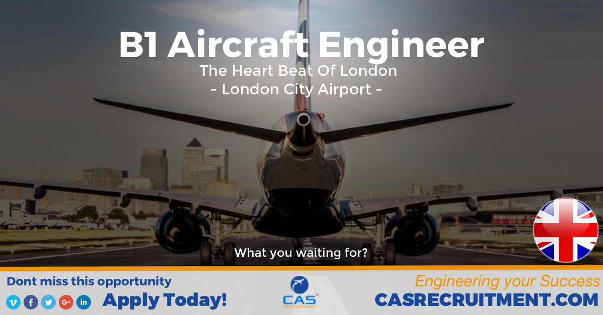 CAS Recruitment B1 Aircraft Engineer Embraer 190 Latest Aviation Jobs.jpg