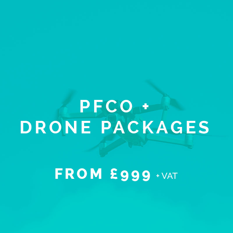 pfco course and drone package ..