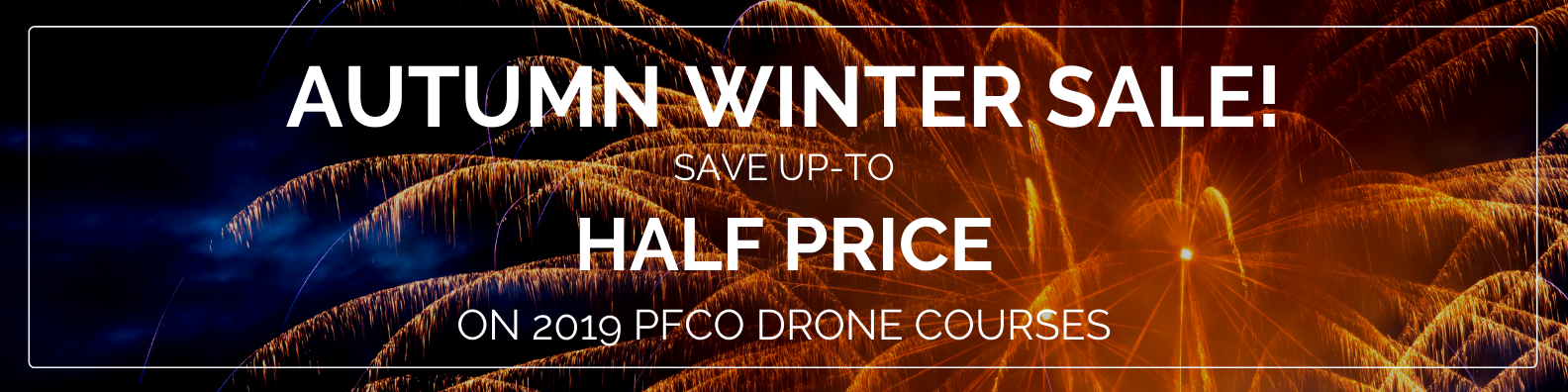 drone course half price sale