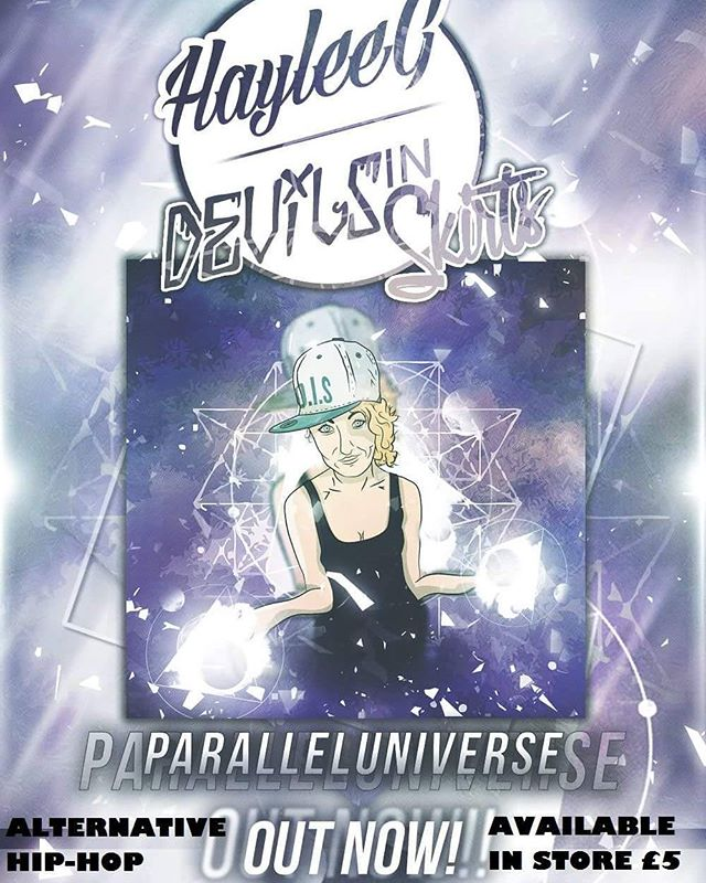 Parallel Universe - Available now in Underground Solu'shun (Cockburn Street), Scottish Design Exchange (Ocean Terminal), Vinyl Villains (Leith Walk) and Deadhead Comics (Newington)
