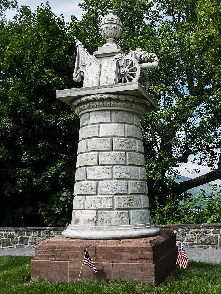 The Cadet Monument, West Point, NY. ©2016 ExecutionHollow.com.