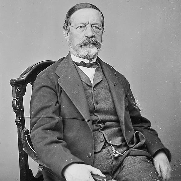 J.H.B. Latrobe by Matthew Brady, c.1860-1865. NARA