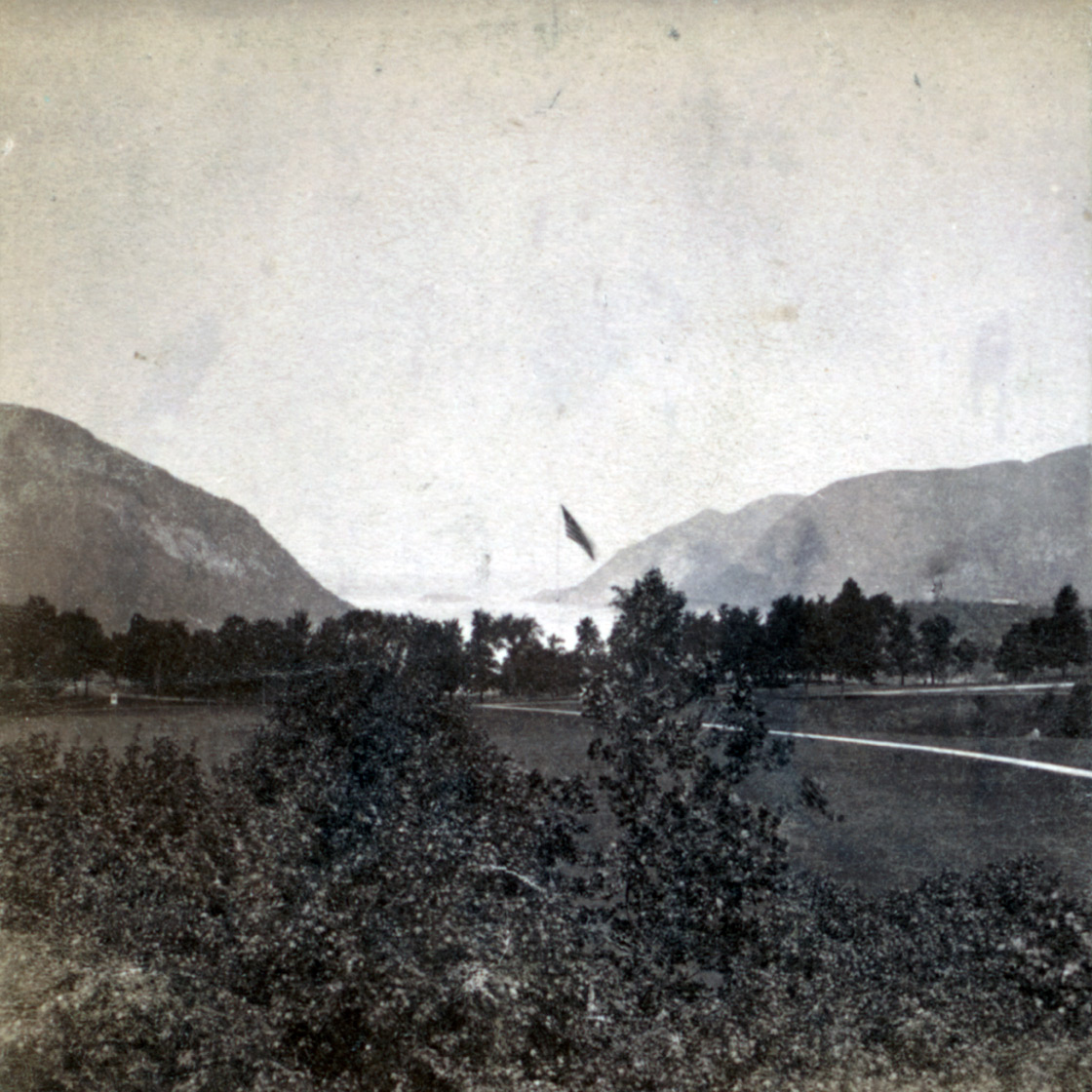 West Point Flag Pole, 19th century, exact date unknown.Source: The New York Public Library