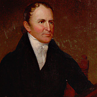 Governor Thomas Worthington by Charles Willson Peale, 1815. Source:Wikipedia.