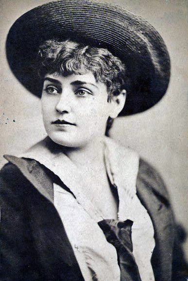 Lillian Russell. Source: New York Public Library