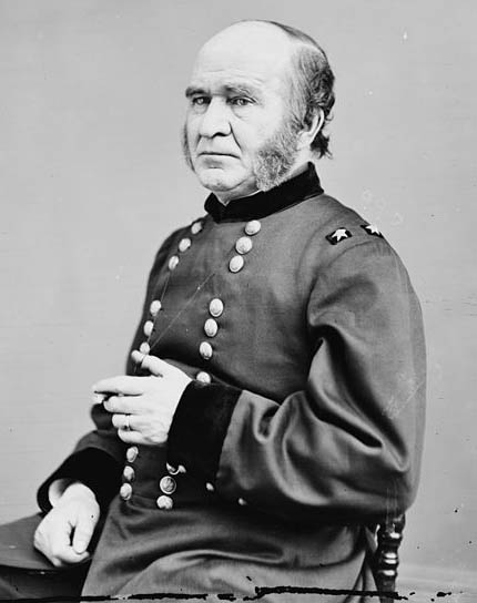 Troublemaker  Benny Roberts  later in life. His highest rank was Brevet Major General (1865).