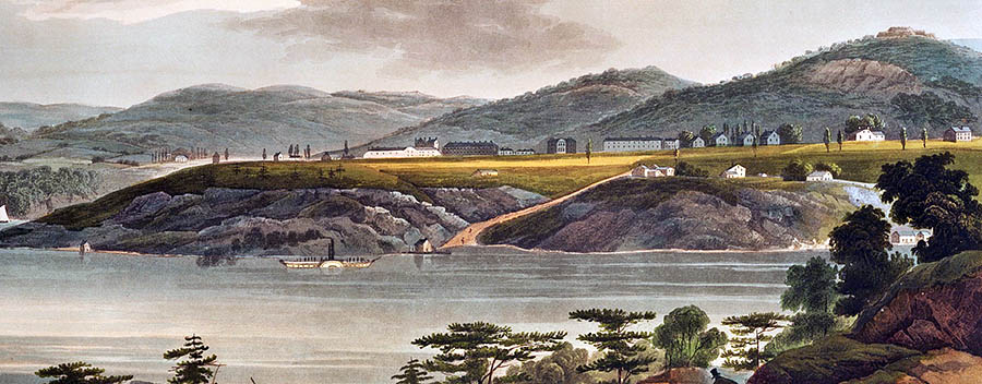 West Point ~1820. Source: NYPL Digital Collections