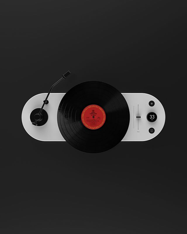 Retro sound meets modern tech. Stormtrooper turntable with some Earth, Wind and Fire. . . . . #industrialdesign #vinylrecords #render #concept #stormtrooper #surfacedesign #inspiration #details #productdesign #design #solidworks #model #cad #3dcad #keyshot #designbunker #renderweekly #juicy #designers_need #ideas #renderweeklys2w9