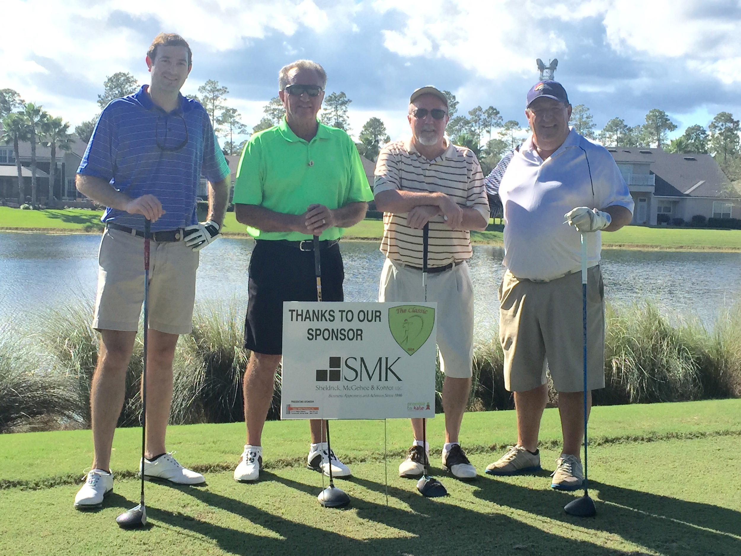 Representatives from Sheldrick, McGehee & Kohler, LLC, 2015 Tournament Sponsors